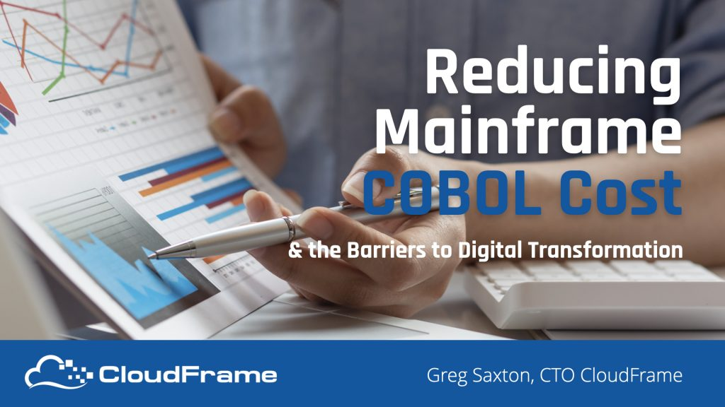 Reducing Mainframe Compute Cost Webinar Recording Now Available